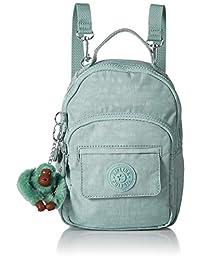 Kipling Alber 3 合 1 可转换迷你包背包,3 种方式,拉链封口