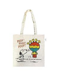 Peanuts 带环保标志棉袋 1904 気球 SNEC897