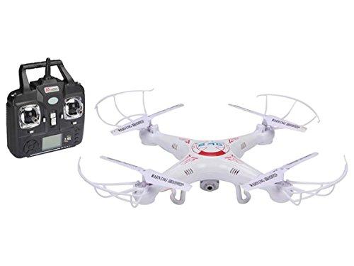 2 MPの高精細カメラでVelleman RCQC1のquadrocopter、多色