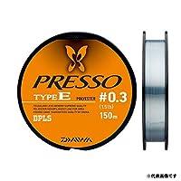 Daiwa(Daiwa)酯線 壓線型E 150m 0.5號 2.5lb 透明