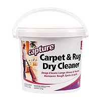 Capture Carpet 干洗粉 4 磅 – **原,地毯家具衣服和织物上的污渍气味,宠物污渍气味烟雾和*原