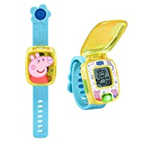VTech 伟易达 Peppa Pig 小猪佩奇学习手表,蓝色