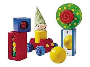 HABA 1189 木制积木 1-2岁儿童玩具 1岁2岁益智 持续性的森林木材 环保水性漆 德國品质 时尚设计