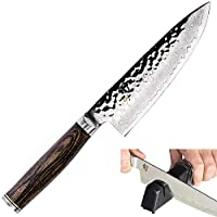 Shun Premier 主厨刀 6-Inch w/Sharpener TDM0723 + AP0138 Bundle