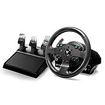 Hercules TMX Pro – 方向盘和踏板套装 – 电缆绑定 – 适用于PC Microsoft Xbox – 方向盘 – 12 个按钮,4460143