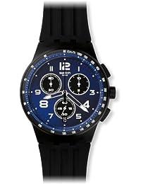 Swatch 中性款计时石英手表带硅胶手链 - SUSB402
