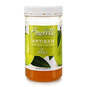 Amoretti Natural Artisan, Pear, 2.2 Pound