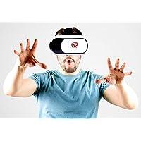 VR 耳机 VR 护目镜虚拟现实耳机 VR 眼镜头盔适用于3d 视频电影 GAMES 适用于 Apple iphone  Android  SAMSUNG SONY HTC 等智能手机的 vrlab