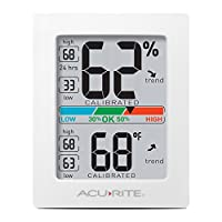 AcuRite 01083 Pro Accuracy Indoor Temperature and Humidity Monitor