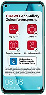 HUAWEI P40 lite Dual-SIM Smartphone Bundle (16 cm (6,4 Zoll), 128 GB interner Speicher, Android 10.0 AOSP ohne