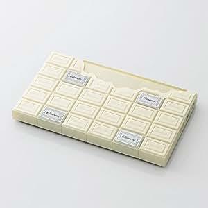 美奇网 创意家居 创意巧克力体重秤(白色)