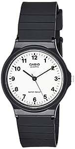 Casio 石英树脂休闲手表,颜色:黑色(型号:MQ24-7B)