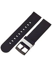 Hadley RomaBND300RA 200 硅胶 黑色 BND300RA 200 表带