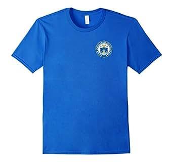 男式美国海岸警卫队学院 T 恤,USCG Academy T 恤 S 码皇家蓝
