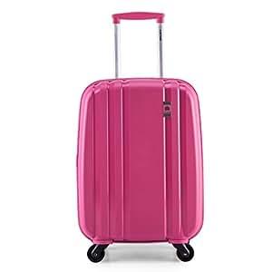 Delsey 法国大使 PP ZIPPE系列 拉杆箱 849 粉红色 20英寸 万向轮 PP材质 TSA海关密码锁