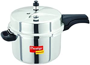 Prestige 豪华不锈钢高压锅 银色 8 Liter PEE_PDSSPC8_