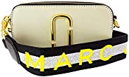 Marc Jacobs Women's Small Logo Strap Snapchat Camera Bag Leather Cross