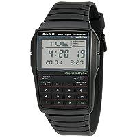 Casio 男士 DBC32-1A 数据银行黑色数字手表