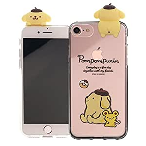 iPhone SE/iPhone 5S / iPhone 5 Case Pompompurin Cute Figure Doll Clear Jelly Cover for [ iPhone SE / 5S / 5 ] Case - Figure Pompompurin