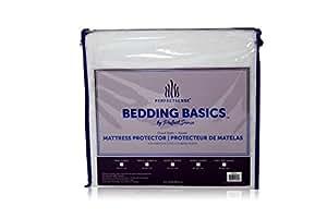 床垫保护罩 perfectsense BASICS 奢华柔软透气 防水床垫保护罩深口袋床套风格保护器 & machine 可水洗乙烯基 PVC and phthalate FREE