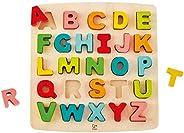 Hape HAP-E1551 大块字母拼图 - 多色