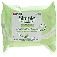 Simple 面部清洁湿巾-6包
