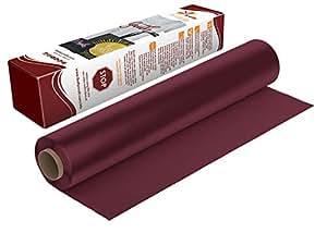萤火虫工艺热转印乙烯基适合剪影和十字架,31.75 cm x 1.52 m 卷 栗色 5' Roll