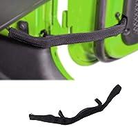 Jade Onlines 20 件格栅紧固件铆钉推销夹螺丝护圈铆钉紧固件修剪成型夹适用于 Jeep JK & JKU 2007-2018 黑色 Auto-Accessory
