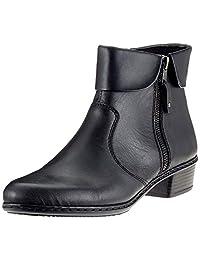 Rieker 女 短靴 Y07A8(亚马逊进口直采, 德国品牌)