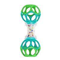 美国 KIDS II Oball奥波球玩具 奥波哑铃 KIIC81107(3个月以上)(抓握玩具)