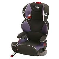 Graco Affix儿童加高座椅,锁扣系统,葡萄紫色