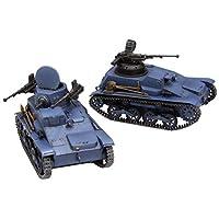 FineMolds 少女与战车 丝带武者 九四式轻装甲车 鬼队 *改 & 无人炮塔规格 2台套装 1/35比例 塑料模型 41113