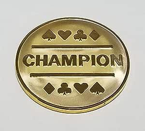 镀金冠军硬币(50 毫米/2 英寸)