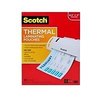 Scotch 热塑封膜,8.9 x 11.4英寸,3毫米厚,100包(TP3854-100)
