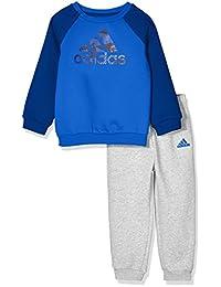 adidas Kids 阿迪达斯 婴儿 婴童针织套服 I E LOGO JOG FL