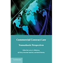 Commercial Contract Law: Transatlantic Perspectives (English Edition)