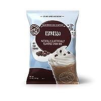 Big Train 混合冰咖啡, 意式咖啡,3.5磅(1589克),粉状速溶咖啡饮料混合,热冷均可,制作混合冰沙饮品