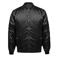 男式經典基本款拉鏈短夾克