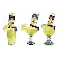 Corona-Rita Margarita 支架 - 4 件套 黄色/蓝色 蓝色