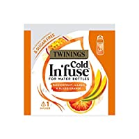 Twinings Cold In'Fuse Passionfruit Mango and Blood Orange Trial Pack (Pack of 9 Trial Packs, Total 27 Infusers)