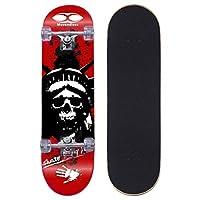 Movendless YD-0008 完整滑板 78.74 厘米,7 层枫木双踢凹面滑板板