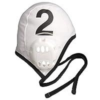 FINIS 斐尼斯 水球比赛防护帽 水球帽含耳套 Water Polo 中性 白色/黑色