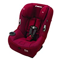 美版Maxi-Cosi迈可适儿童安全座椅Pria 85 Special Edition Ribble Knit Convertible-新德里红(跨境自营)