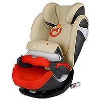 (跨境自营)(包税) 德国CYBEX儿童安全座椅派乐斯Pallas m-fix isofix硬接口 17款秋叶金(德国品牌