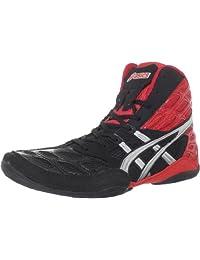 ASICS Split Second 9 男士摔跤鞋 Red/Silver/Black 9 M US