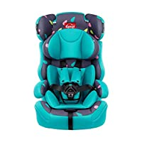 感恩 宝宝汽车儿童安全座椅 旅行者 9个月-12岁 蓝色雨滴(供应商直送)