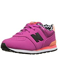 New Balance KL574 Acrylic Pre Classic Running Shoe (Little Kid)
