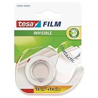 tesa 德莎 德国进口 薄膜隐形透明胶带 尺寸为10m*19mm + 切断器