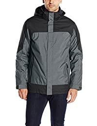 32Degrees Weatherproof Men's 3-In-1 Systems Color-Block Jacket