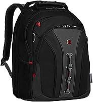 "Wenger 威戈 600631 LEGACY 16"" 笔记本电脑背包 适合飞行的旅行背包 带稳定平台 黑色 {"